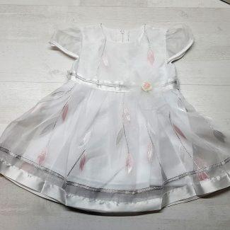 Нарядное платье с лентой