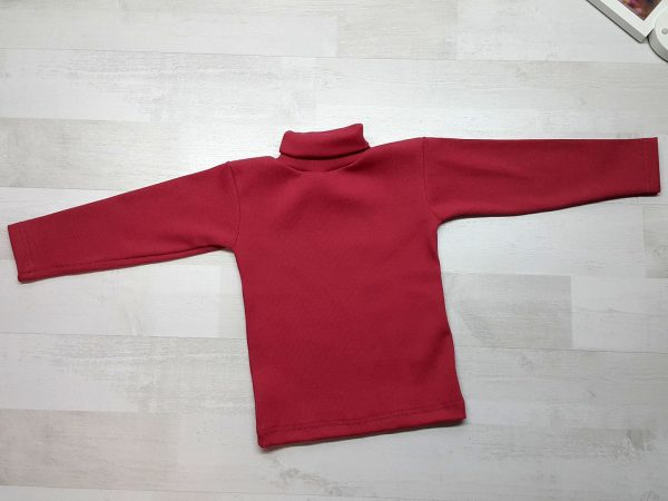 Водолазка детская красная