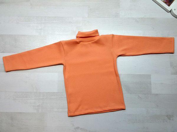 Водолазка детская оранжевая