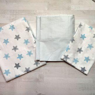 Детский постельный комплект люкс (звезды)