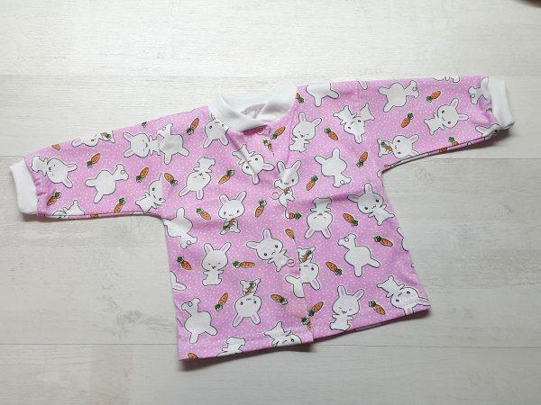 Кофта для малышей розовая