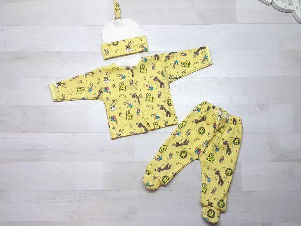 Костюм «Малютка» 3 предмета желтый