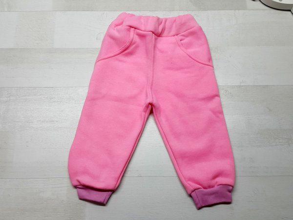 Штаны утеплённые плотные для девочки