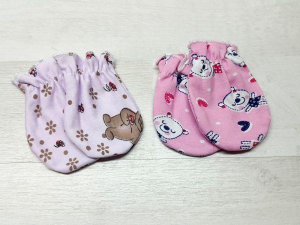Царапки тёплые на резинке для девочки