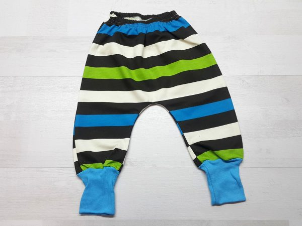 Штаны-багги на манжете для мальчика