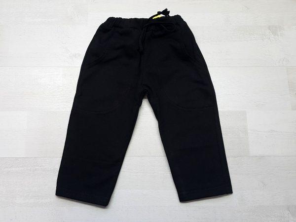 Штаны спортивные тёплые черные