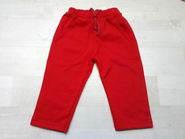 Штаны спортивные тёплые красные