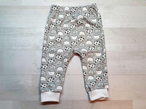 Штаны с ластовицей для малышей Мишки со звездами