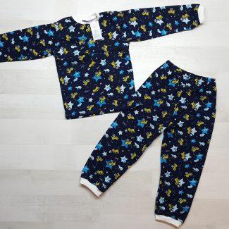 Детская пижама на кнопках