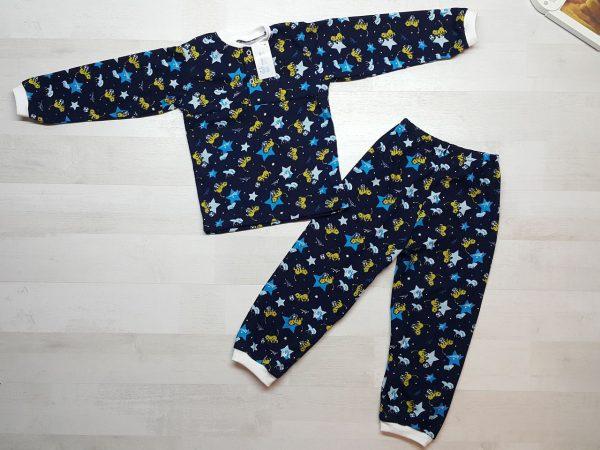 Детская пижама на кнопках (кулирка)