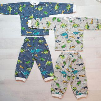 Детская пижама на кнопках кулирка