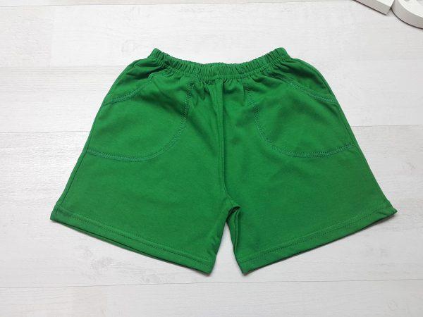 Шорты на мальчика зеленые