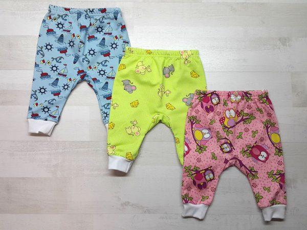 Штаны с ластовицей для малышей тёплые
