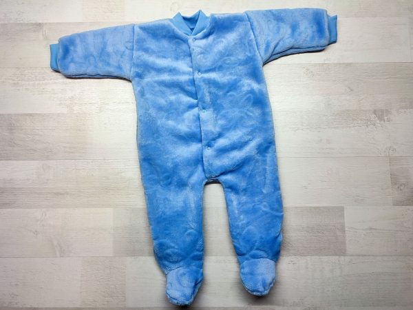Комбинезон теплый детский голубой