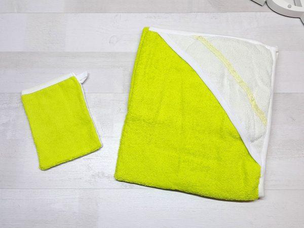 Комплект для купания лимонный