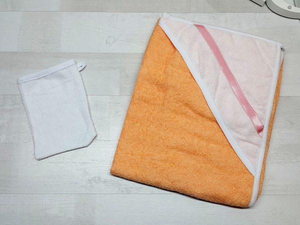 Комплект для купания оранжевый