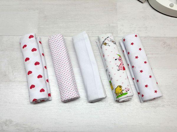 Комплект гигиенических салфеток для девочки
