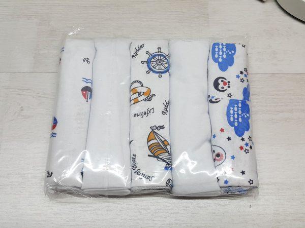 Комплект гигиенических салфеток для мальчика в упаковке