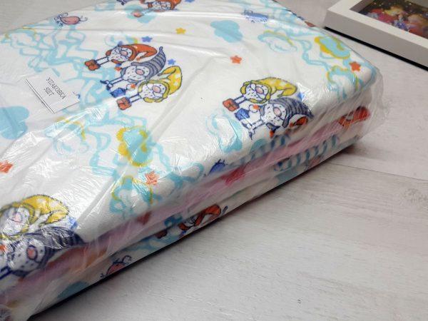 Комплект пелёнок фланель 75 x 110 (5 штук) в упаковке 2