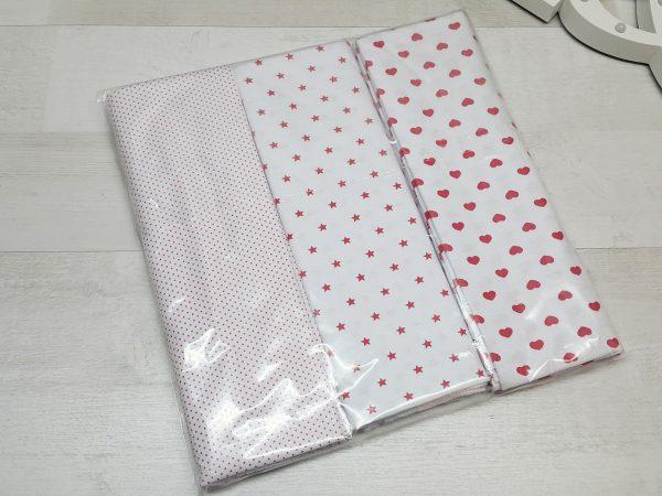 Комплект пелёнок трикотажных (3 штуки) упаковка