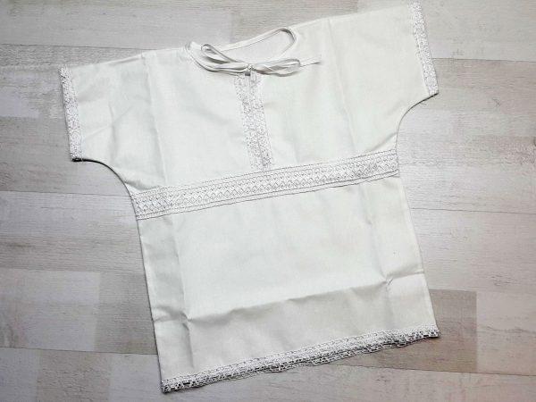 Крестильная рубашка «Ванюша» белая