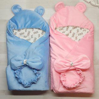 Детское одеяло-конверт