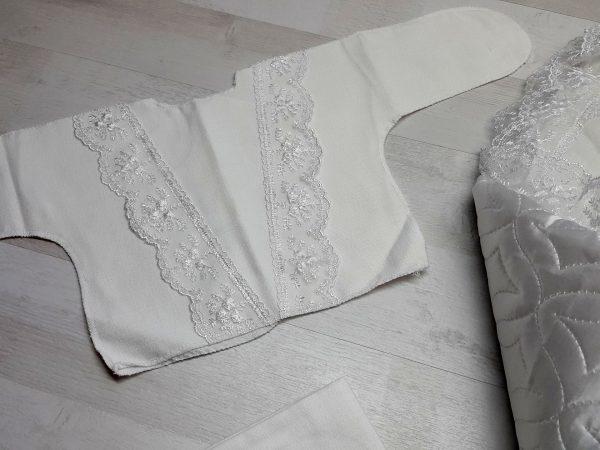 Одеяло с комплектом «Стежка» белый 2