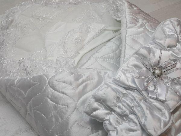 Одеяло с комплектом «Стежка» белый 3