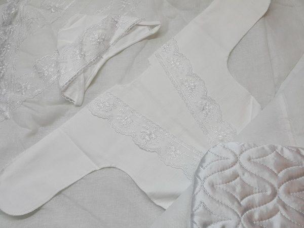 Одеяло с комплектом «Стежка» белый 4