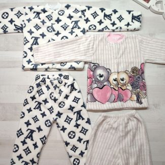Пижама детская велсофт
