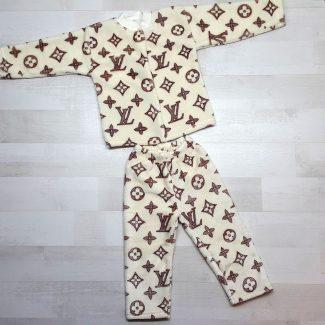 Пижама евромахра бежевая LV
