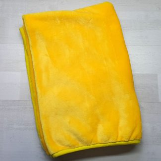 Плед евромахра желтый