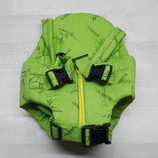 Рюкзак «Кенгуру» с поддержкой зеленый