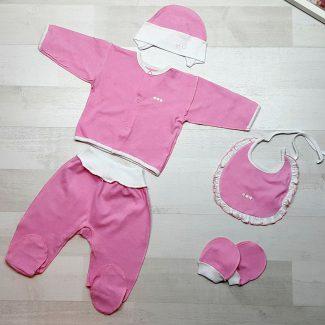 Комплект «Радость» 5 предметов голубой розовый