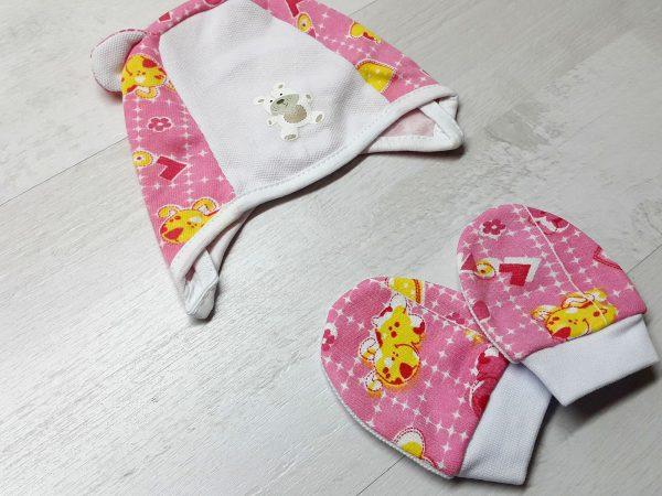 Комплект «Топтыжка» розовый 3