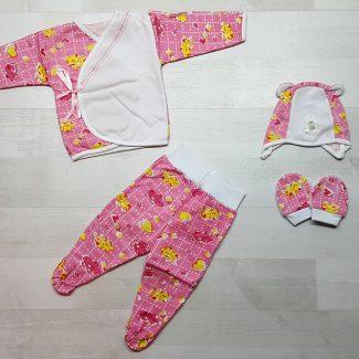 Комплект «Топтыжка» розовый