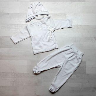 Комплект «Зайка» белый