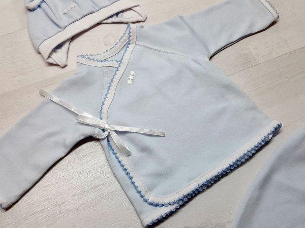 Комплект «Зайка» голубой 2