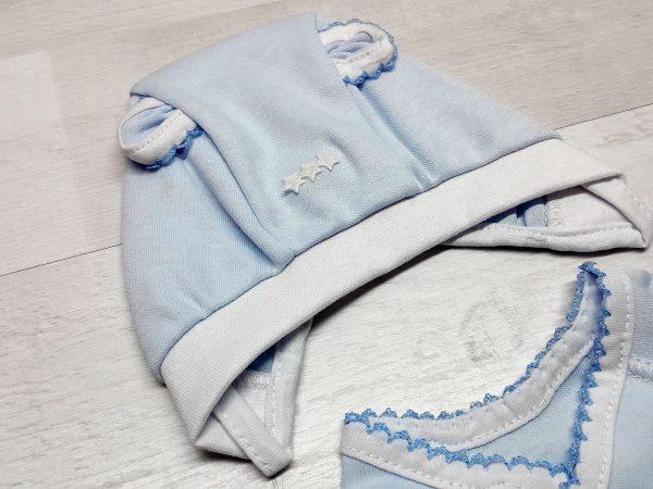 Комплект «Зайка» голубой 3