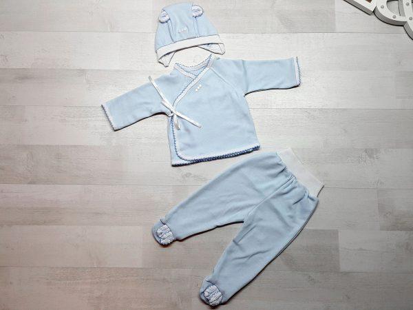 Комплект «Зайка» голубой