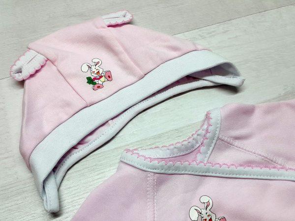 Комплект «Зайка» розовый 3
