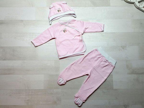 Комплект «Зайка» розовый