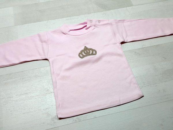 Костюм с жилеткой для девочки розовый 2