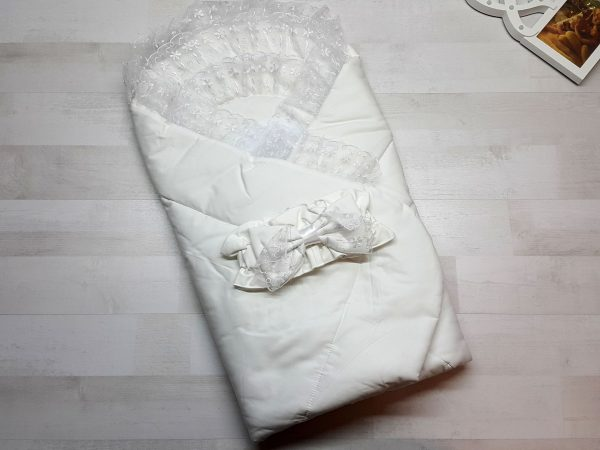 Одеяло с фиксатором белое