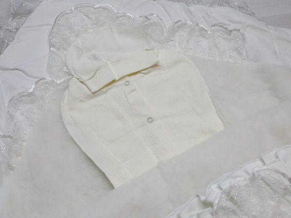 Одеяло с резинкой-фиксатором белое 2