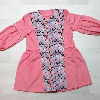 Платье-халат из вельвета