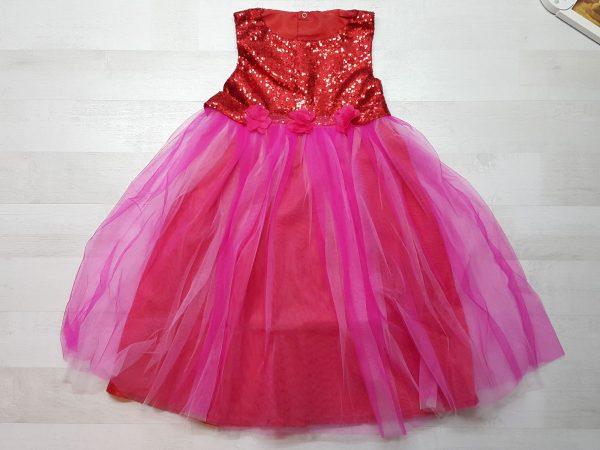 Платье нарядное (5 расцветок) красное