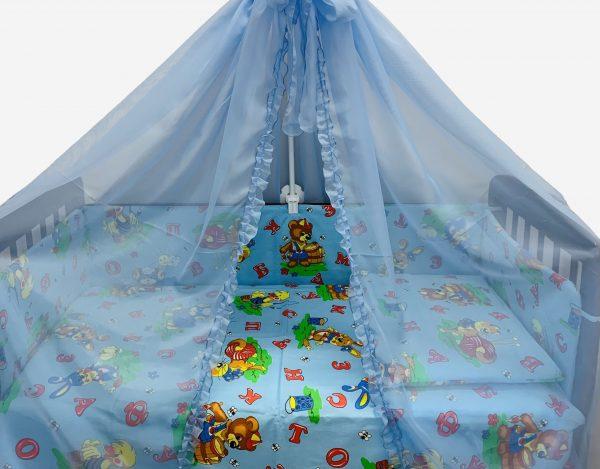 Постельное белье и бортики для новорожденных