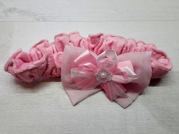 Резинка-фиксатор для выписки розовая