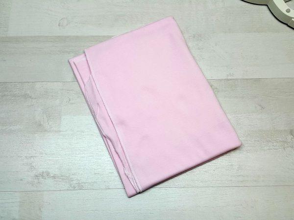 Пелёнка интерлок однотонная розовая